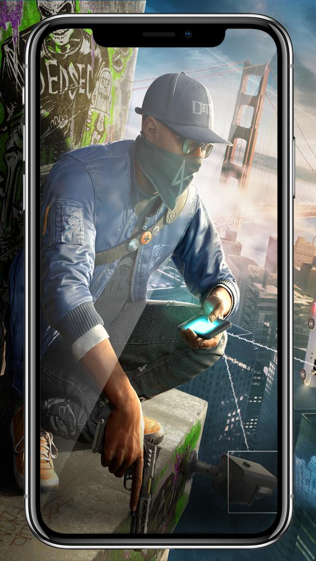 watch dogs 2 wallpaper poster