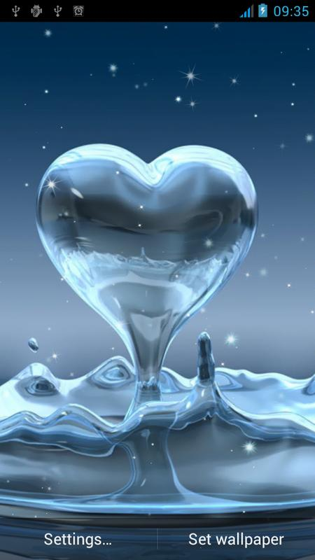 Water Drop Live Wallpaper For Android Apk Download
