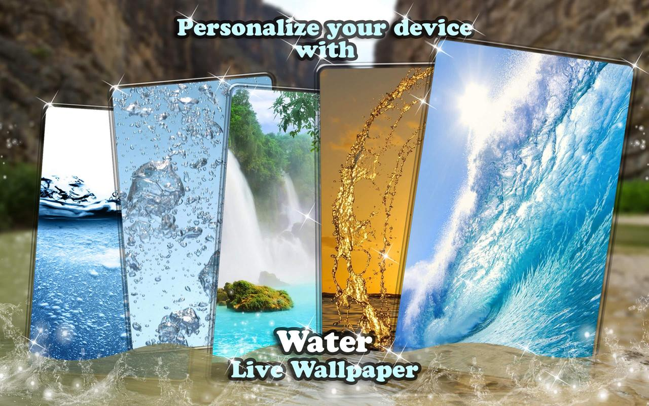 Live Water Wallpaper With Sound Animated Images Screenshot 8