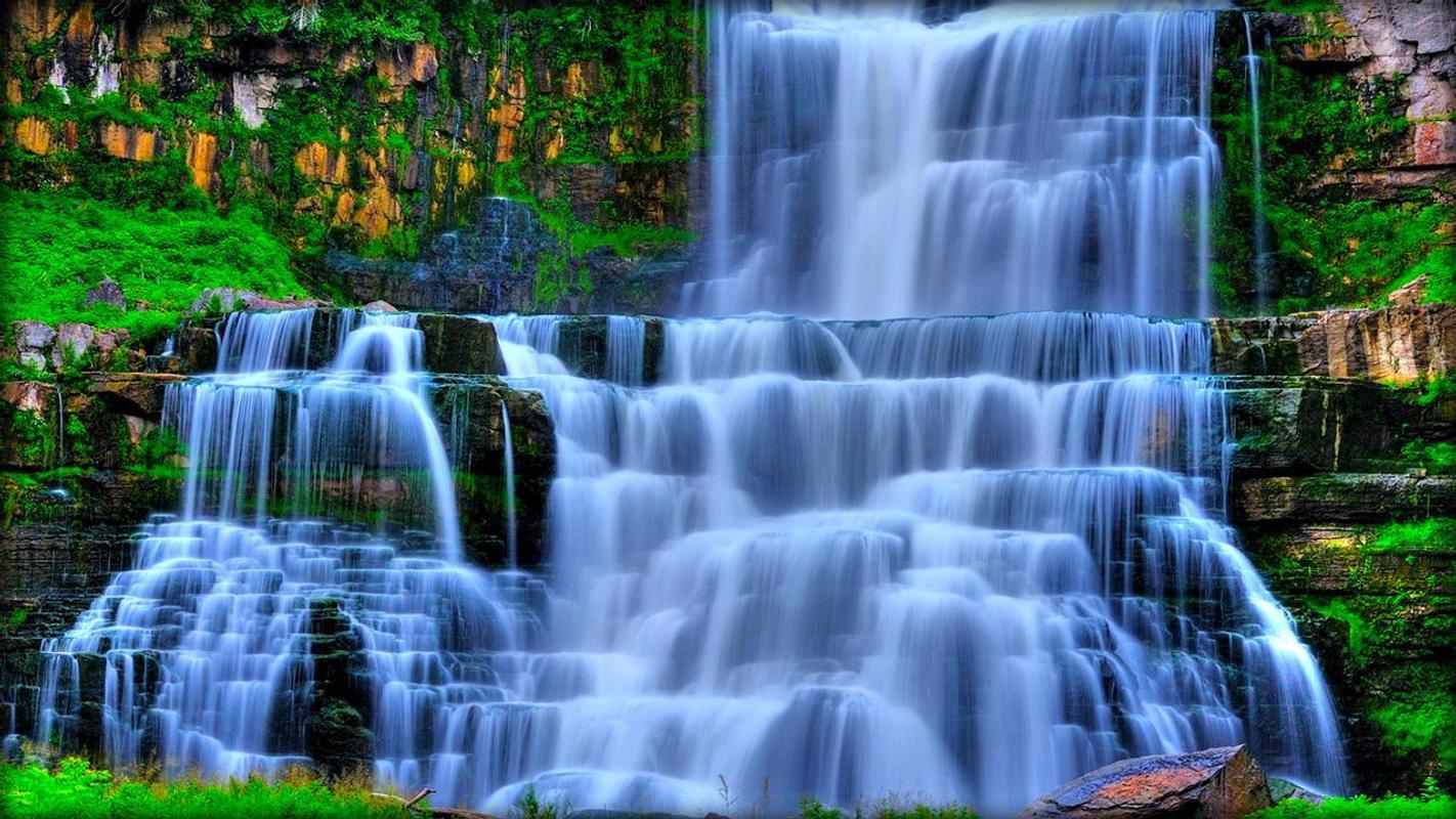 ... Waterfall Live Wallpaper screenshot 5