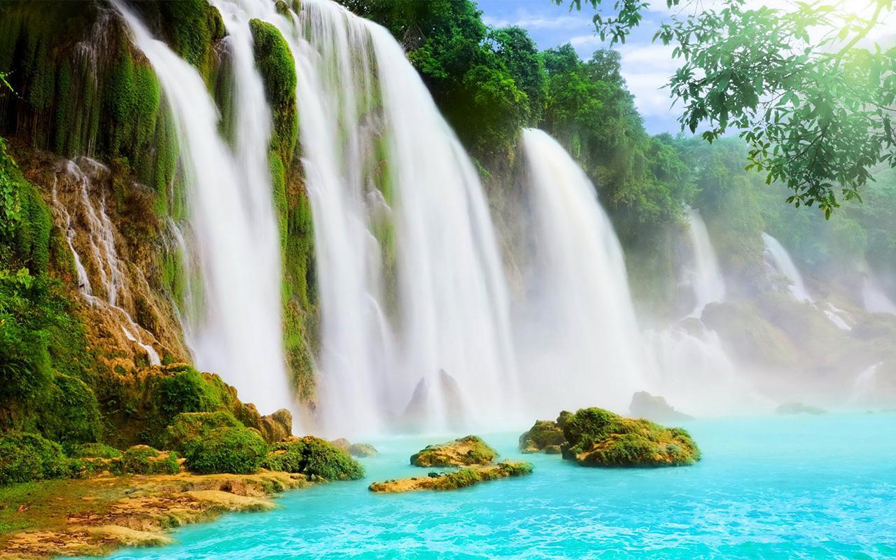 Waterfall HD Live Wallpaper For Android