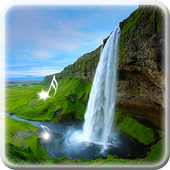 Waterfall Wallpaper With Sound icon