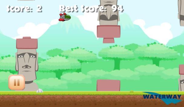 Flying Spaceship Planet Escape apk screenshot