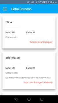 SARA - Estudiantes screenshot 3
