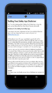 Tackling Food Safety screenshot 6