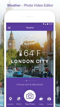 Weather - Photo Video Editor poster