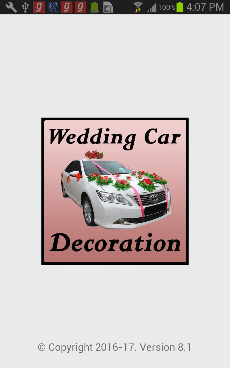 Wedding Car Decoration Ideas Marriage Car Decor For Android Apk Download