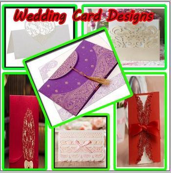 Wedding Card Design poster
