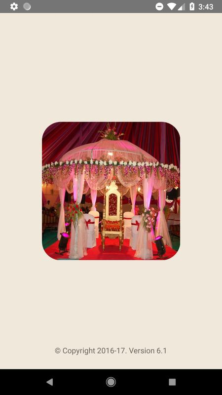 Wedding decoration ideas video apk download free entertainment app wedding decoration ideas video poster junglespirit Image collections