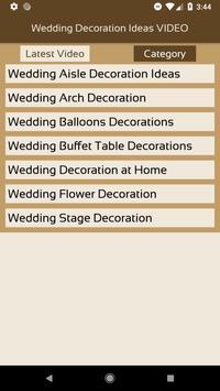Wedding decoration ideas video apk download free entertainment app wedding decoration ideas video apk screenshot junglespirit Image collections