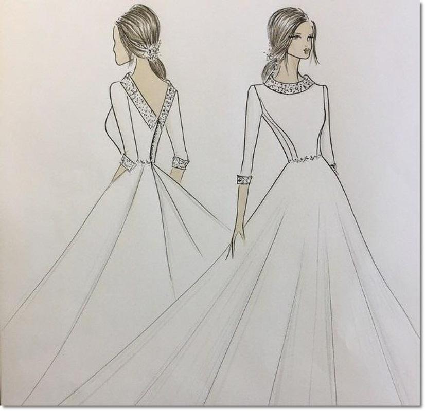 Desain Sketsa Busana Pernikahan For Android Apk Download