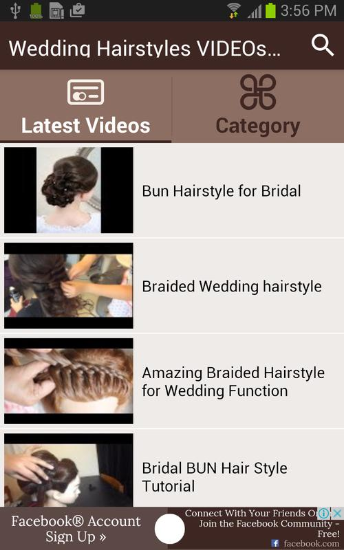 Wedding Hairstyles Videos Step For Android Apk Download