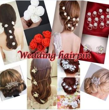 Wedding Hairpin poster
