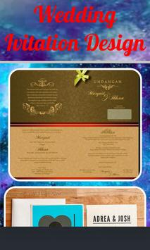 Wedding Invitation Design poster