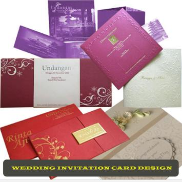 Wedding Invitation Design poster