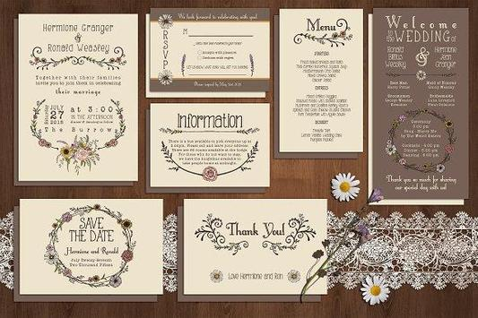 Wedding Invitation Design screenshot 5