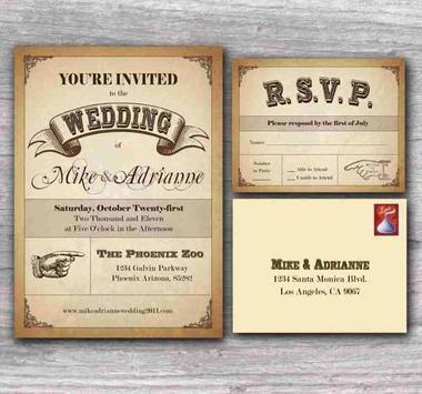 Wedding Invitation Design screenshot 1