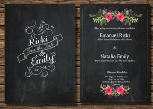 Wedding Invitation Design screenshot 2
