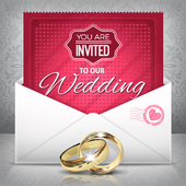 Wedding Invitations Card Maker icon