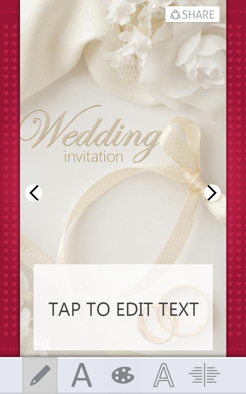 wedding invitations card maker for android  apk download