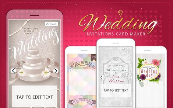 Wedding invitations card maker apk download free photography app wedding invitations card maker poster stopboris Choice Image