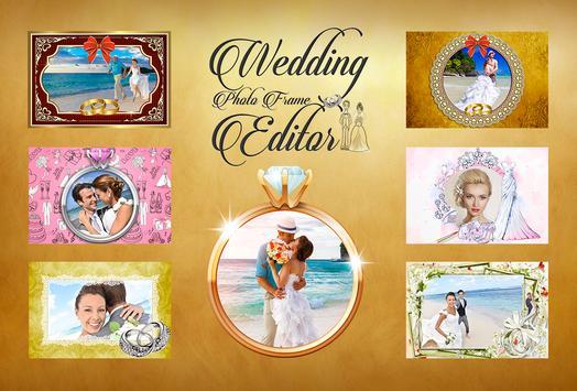 Wedding Photo Frame Editor poster