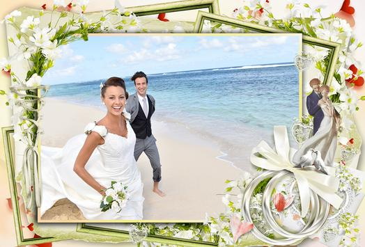Wedding Photo Frame Editor screenshot 1