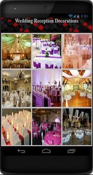 Wedding Reception Decorations poster
