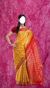 Wedding Saree Photo Montage apk screenshot