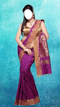 Wedding Saree Photo Montage poster