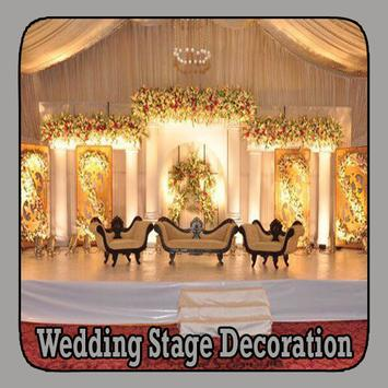 Wedding Stage Decoration poster