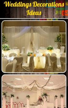 Weddings Decorations Ideas poster