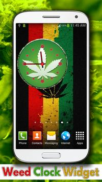 Weed Clock Widget apk screenshot