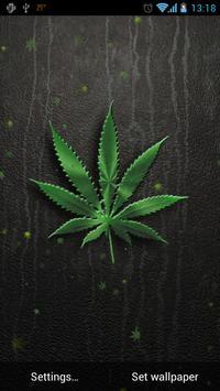 Weed Live Wallpaper apk screenshot