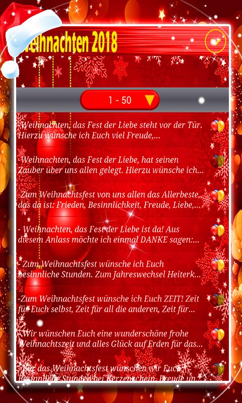 Weihnachts-SMS 2018 for Android - APK Download