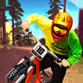 Downhill Bike Simulator MTB 3D icon