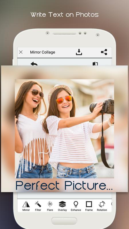 mirror collage grid maker apk download   free photography