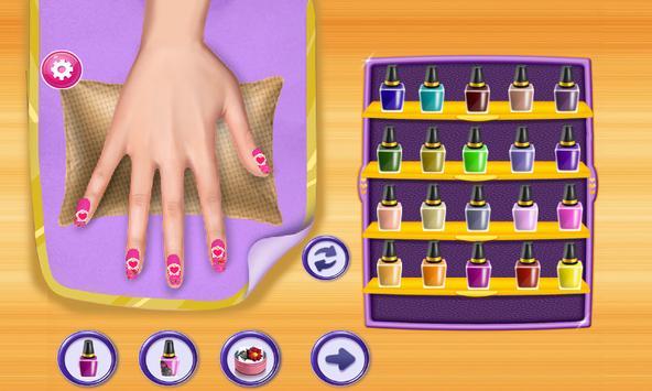 Nail Salon - Art Nail Design Girls Game poster