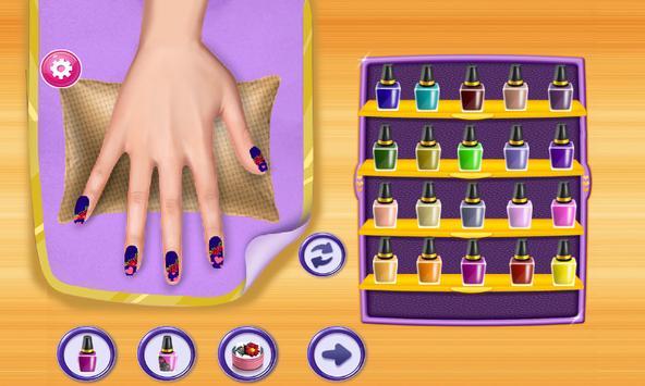 Nail Salon - Art Nail Design Girls Game apk screenshot