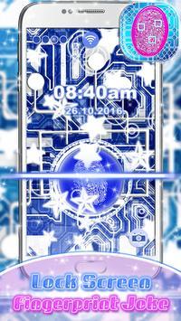 Lock Screen – Fingerprint Joke poster