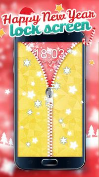 Happy New Year Lock Screen apk screenshot