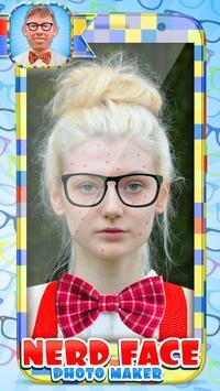 Nerd Face Photo Maker poster