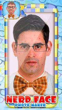 Nerd Face Photo Maker screenshot 1
