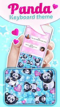Panda Keyboard Theme apk screenshot