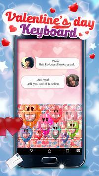 Valentine's Day Keyboard screenshot 5