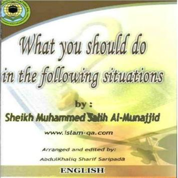 What you should do poster