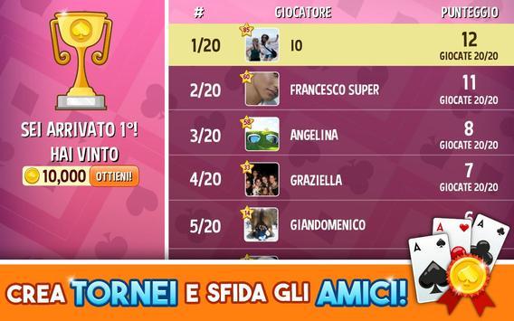 Scala 40: la sfida! apk screenshot