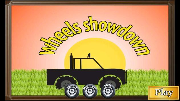 Mcqueen Wheels Showdown poster