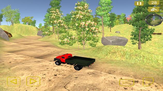 Impossible Off Road Truck Driving Simulation 2018 screenshot 1