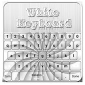 White Keyboard icon